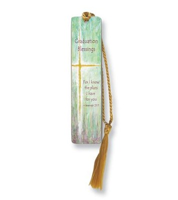 Graduation Blessings, For I Know the Plans Bookmark  -     By: Caroline Simas