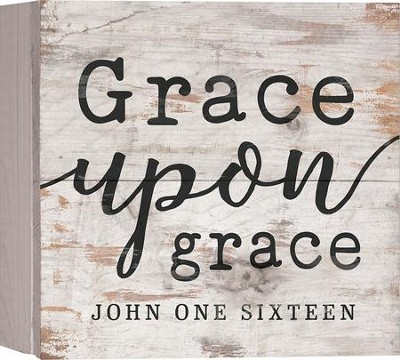 Grace Upon Grace, Barnhouse Box Decor   -