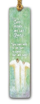 Good Friends Are Like Angels Bookmark  -     By: Caroline Simas