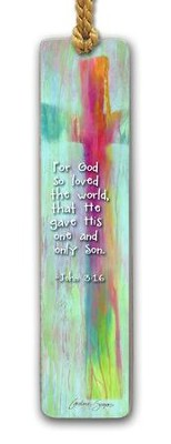 For God So Loved the World Bookmark  -     By: Caroline Simas