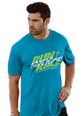 Run the Race Shirt, Blue, X-Large  -