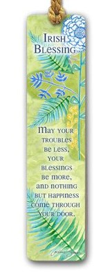Irish Blessing Bookmark  -     By: Caroline Simas