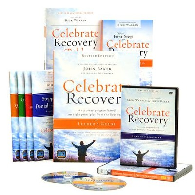 Celebrate Recovery, DVD Curriculum Kit   -