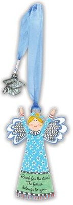 Reach For the Stars, Angel Graduation Ornament  -     By: Carol Eldridge