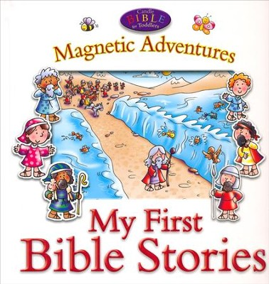 My First Bible Stories-Magnetic Adventures  -     By: Juliet David