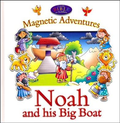 Noah and His Big Boat-Magnetic Adventures  -     By: Juliet David