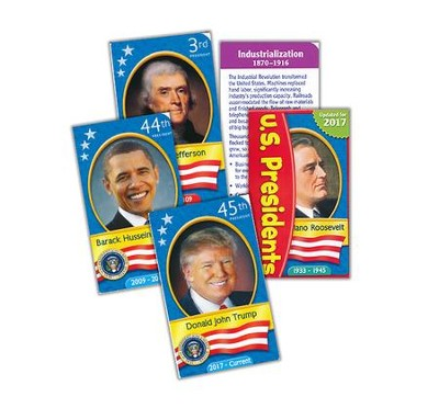 U.S. Presidents Pocket Flash Cards   -