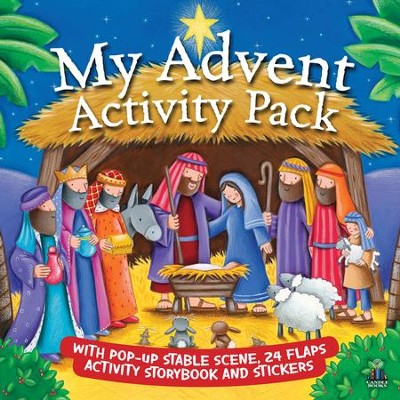 My Advent Activity Pack  -     By: Juliet David