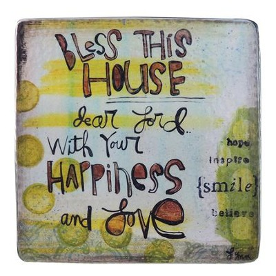 Bless This House, Dear Lord Plaque  -     By: Lynn Sanchelli