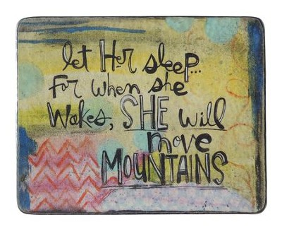 Let Her Sleep Plaque  -     By: Lynn Sanchelli