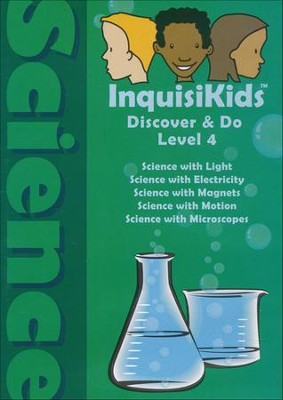 InquisiKids Discover & Do Science Level 4 DVD   -