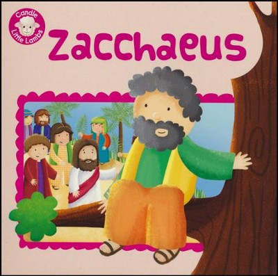 Zacchaeus, Candle Little Lambs, Paperback     -     By: Karen Williamson