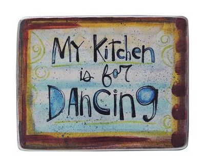 My Kitchen Is For Dancing Magnet  -     By: Lynn Sanchelli