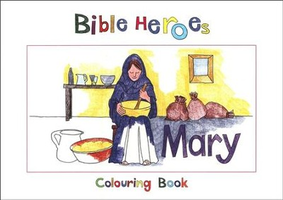 Mary Colouring Book  -