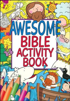 Awesome Bible Activity Book  -
