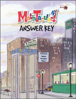 MathTacular 4, Workbook Answer Key   -