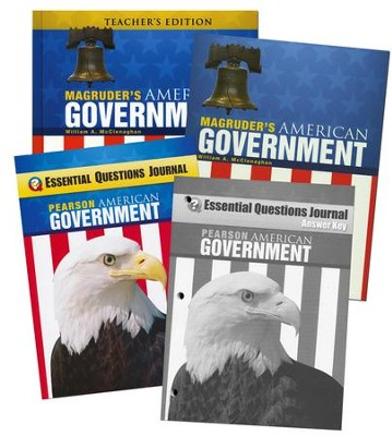 Magruder's American Government Homeschool Bundle (2013 Edition)  -