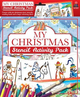 My Christmas Stencil Activity Pack  -     By: Juliet David