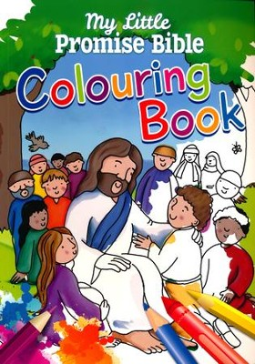 My Little Promise Bible Colouring Book  -     By: Juliet David