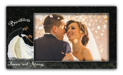 Breathless, Forever and Always, Anniversary Photo Frame  -     By: Carolyn Blaylock