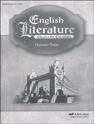 Abeka English Literature Tests and Quizzes  -