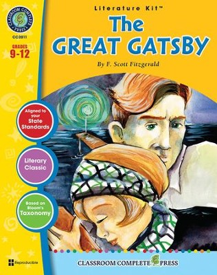 The Great Gatsby Literature Kit Gr 9 12 Pdf Download Download
