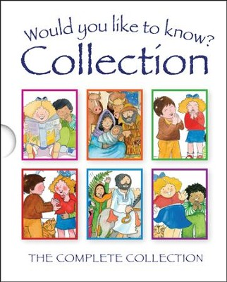 Would You Like to Know?-Gift set: The Complete Collection  -     By: Tim Dowley