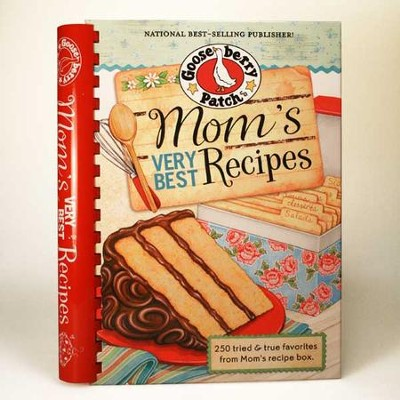 Mom's Very Best Recipes Cookbook  -