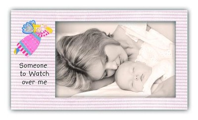 Someone To Watch Over Me, Angel Photo Frame, Pink   -     By: Carol Eldridge