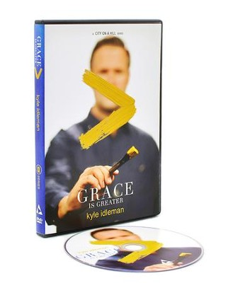 Grace Is Greater, DVD Video  -     By: Kyle Idleman