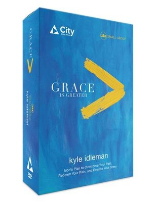 Grace Is Greater DVD, Small Group Study   -     By: Kyle Idleman
