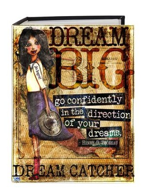 Dream Big, Go Confidently Photo Album  -     By: Amy Bremner