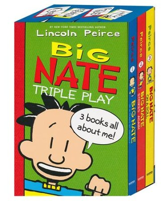 Big Nate Triple Play Box Set  -     By: Lincoln Peirce     Illustrated By: Lincoln Peirce