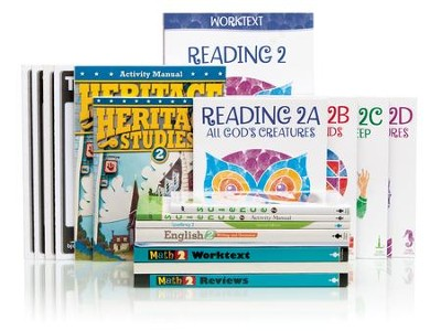 BJU Press Complete Grade 2 Homeschool Kit   -