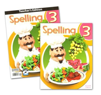BJU Press Spelling Grade 3 Homeschool Kit (2nd Edition)  -
