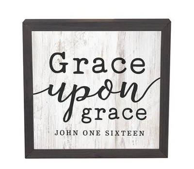 Grace Upon Grace, Framed Decor   -