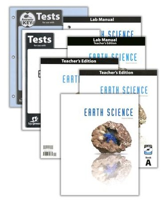 BJU Earth Science Grade 8 Homeschool Kit (Fourth Edition)    -