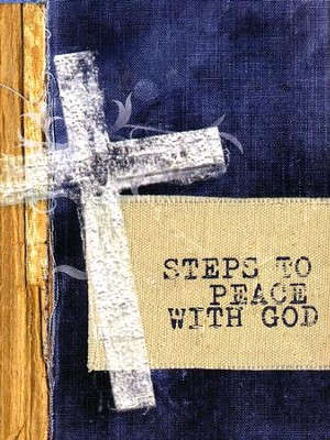 Steps to Peace with God, Cross Version (NKJV) pack of 25 tracts  -     By: Billy Graham