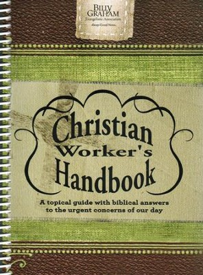 Christian Worker's Handbook (Reprint)   -