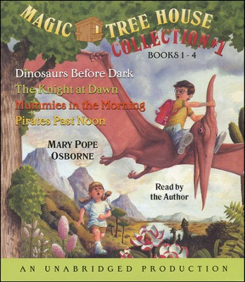Magic Tree House: Books 1-4 Unabridged Audiobook on CD  -     Narrated By: Mary Pope Osborne     By: Mary Pope Osborne