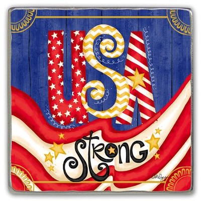 USA Strong Visor Clip  -