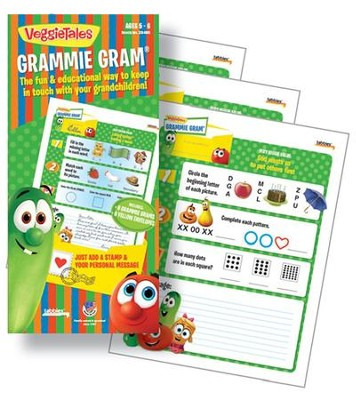 VeggieTales Grammie Grams for Ages 5 to 6 years   -