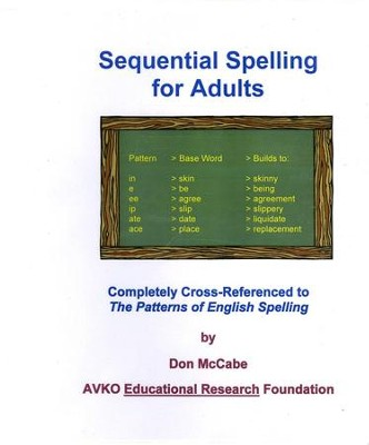 Sequential Spelling for Adults   -
