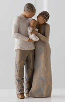 Willow Tree, We Are Three, Family Figurine  -     By: Susan Lordi
