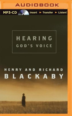 Hearing God's Voice - unabridged audio book on MP3-CD  -     Narrated By: Mel Foster     By: Henry Blackaby, Richard Blackaby
