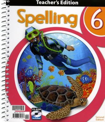 Spelling 6 Teacher's Edition (2nd Edition)   -