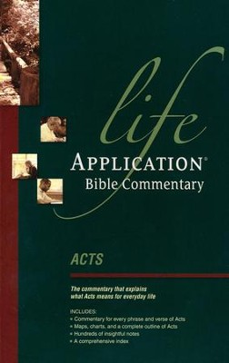 Acts: Life Application Bible Commentary    -     By: Bruce Barton, Dave Veerman, Grant R. Osborne