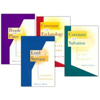 Michael Horton Theology Pack - 4 volumes  -     By: Michael Horton