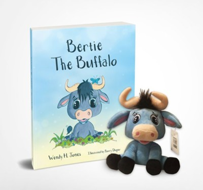 Bertie the Buffalo, Book and Soft Toy  -     By: Wendy H. Jones     Illustrated By: Barry Diaper