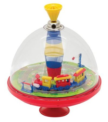 Train Spintop Toy  -